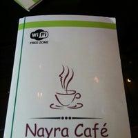 Photo taken at Nayra Cafe by Tekist T. on 12/10/2012