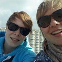 Photo taken at Zee Oostende by Anouk K. on 5/29/2014