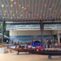 Photo taken at วัดงิ้วราย by Khim N. on 4/15/2014