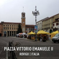 Photo taken at Piazza Vittorio Emanuele II by Enrico L. on 1/13/2013