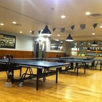 Photo taken at Shibuya Ping Pong Club by Rika on 7/19/2013
