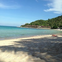 Photo taken at Beach · Impiana Resort & Spa by Anuar Q. on 5/4/2013