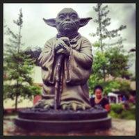 Photo taken at Yoda Statue by Bob M. on 6/23/2013