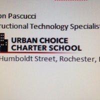 Photo taken at Urban Choice Charter School by Aaron P. on 10/30/2013