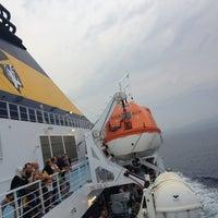Photo taken at Golfo Aranci by Michele P. on 8/8/2013