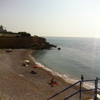 Photo taken at Cala del Pastor by Victoria O. on 7/16/2013