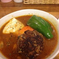 Photo taken at Soup Curry Kamui by 千歳 on 12/30/2012