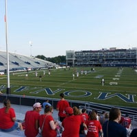 Photo taken at Foreman Field at S.B. Ballard Stadium by Rhonda M. on 10/6/2013