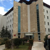 Photo taken at Başkent Üniversitesi by Nilberk K. on 1/13/2013