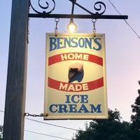 Photo taken at Benson's Ice Cream by Lina on 8/20/2017