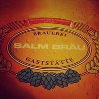 Photo taken at Salm Bräu by Frank S. on 3/6/2013