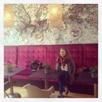 Photo taken at La Bohème Café by Marek K. on 5/14/2014
