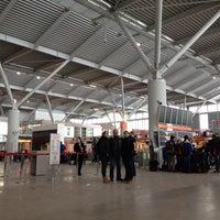 Photo taken at Terminal A by Varvara I. on 1/26/2014