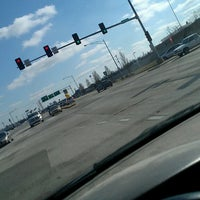 Photo taken at Kansas Expwy & Norton Rd by Kimberly S. on 3/26/2013