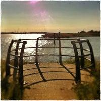 Photo taken at Burnham Yacht Harbour by Chris K. on 9/13/2013