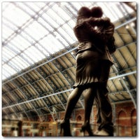 Photo taken at London St Pancras International Railway Station (STP) by Chris K. on 2/3/2013