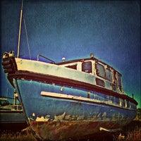 Photo taken at Burnham Yacht Harbour by Chris K. on 9/10/2013