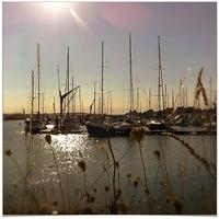 Photo taken at Burnham Yacht Harbour by Chris K. on 9/11/2013