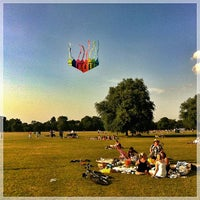 Photo taken at Clapham Common by Chris K. on 7/14/2013
