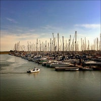 Photo taken at Burnham Yacht Harbour by Chris K. on 9/4/2013