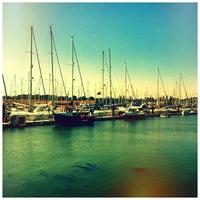 Photo taken at Burnham Yacht Harbour by Chris K. on 8/26/2013