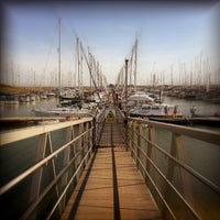 Photo taken at Burnham Yacht Harbour by Chris K. on 9/5/2013
