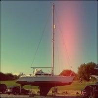 Photo taken at Burnham Yacht Harbour by Chris K. on 10/5/2013