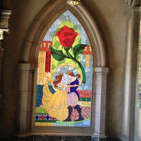 Photo taken at Be Our Guest Restaurant by Clarence M. on 3/6/2013