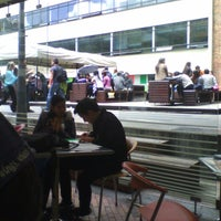 Photo taken at Cafeteria Central by Juan S. on 4/5/2013