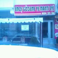 Photo taken at Emoş Gözleme ve Mantı Evi by Anı E. on 12/18/2012