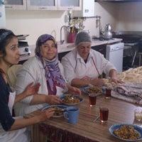 Photo taken at Emoş Gözleme ve Mantı Evi by Anı E. on 12/28/2012