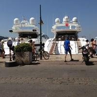 Photo taken at Port de Saint-Tropez by катерина к. on 7/25/2013