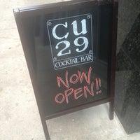 Foto scattata a CU29 Cocktail Bar da Michael C. il 6/6/2013