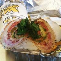 Photo taken at Which Wich? Superior Sandwiches by Edgar C. on 12/22/2012