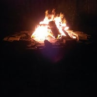 Photo taken at Backyard Fire Pit by Christopher W. on 7/1/2014