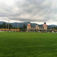 Photo taken at Schouler Park by Seva K. on 7/28/2013