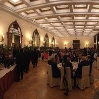 Photo taken at San Domenico Palace Hotel by Franzi V. on 10/28/2017