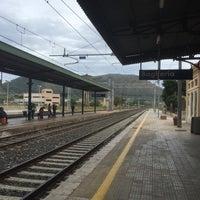 Photo taken at Stazione FS Bagheria by Franzi V. on 10/9/2015