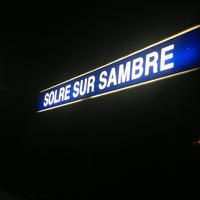 Photo taken at Gare de Solre-sur-Sambre by Amaury D. on 2/14/2013