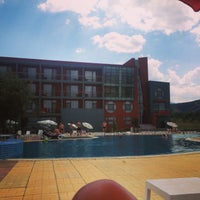 Photo taken at Spa Hotel Exotic Markovo by Nadire on 7/28/2013