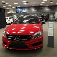 Photo taken at Mercedes-Benz Antwerpen by Alain L. on 2/14/2013