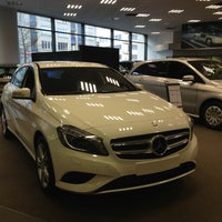 Photo taken at Mercedes-Benz Antwerpen by Alain L. on 3/26/2013