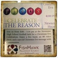 Photo taken at Fishhawk Fellowship by Robin L. on 12/10/2012