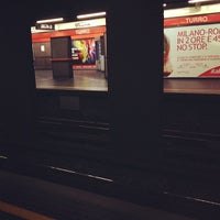 Photo taken at Metro Turro (M1) by Federico T. on 9/22/2012