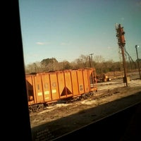 Photo taken at McComb Amtrak Station by Jermaine C. on 2/2/2013