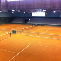 Photo taken at Tenis Clube by Victor S. on 6/15/2013