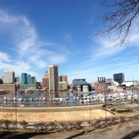 Photo taken at Federal Hill Park by H on 3/9/2013