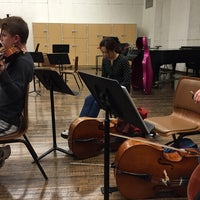 Photo taken at KCPA Orchestra Rehearsal Room by H on 9/30/2014