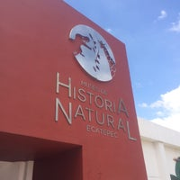 Photo taken at Museo de Historia Natural Ecatepec by Eli S. on 9/16/2016
