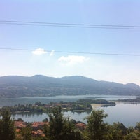 Photo taken at Lago di Annone by Francesca P. on 6/28/2015